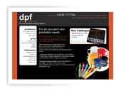 DPF Print and Promotions Website