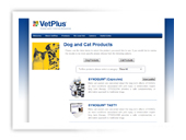 vetPlus Website